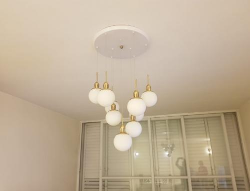 חשיבות תאורה לסלון