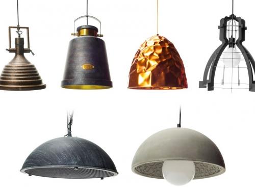 מנורות תלייה במגוון עיצובים