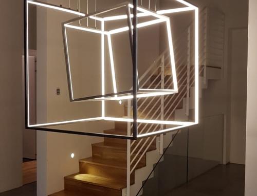 פרוייקט כלוב תאורה ענק